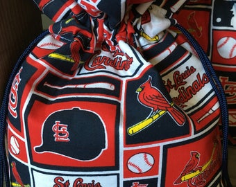 St. Louis Cardinals Gift, Hostess Gift Bag, Cardinals Mothers Day, Cardinals Fan Gift, Cardinals Baby Shower Gift Bag, Cardinals Fathers Day