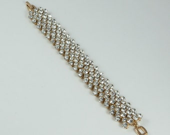 Lola Crystal Gold Bracelet