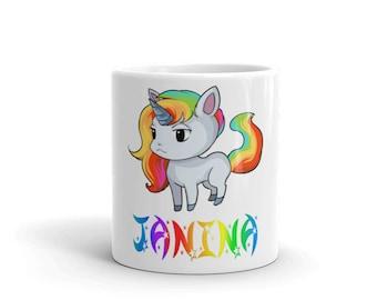 Janina Unicorn Mug