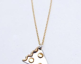 Pizza Love Necklace