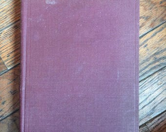Vintage 1933 Historical Geology Raymond Moore Book McGraw Hill