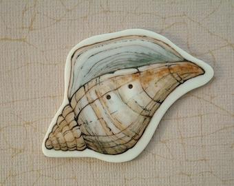 Sea Shell Button