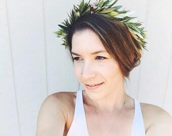 Fresh floral crown - flowercrown, boho crown