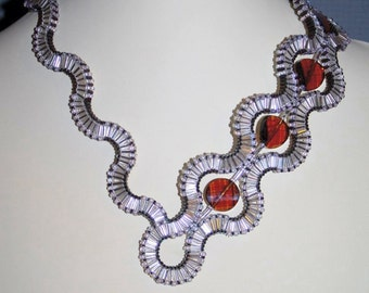 """Tutorial for Necklace """"Undulation"""""""