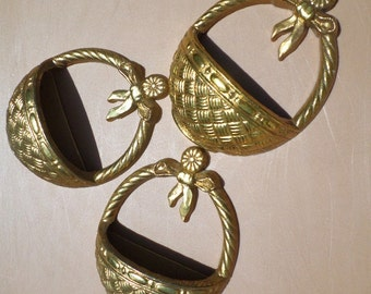Three Gold Baskets Burwood Products Co.