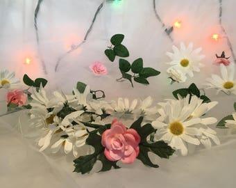 Daisy Full Flower Crown