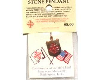 Nazareth Relic Stone Pendant – Grotto of the Annunciation