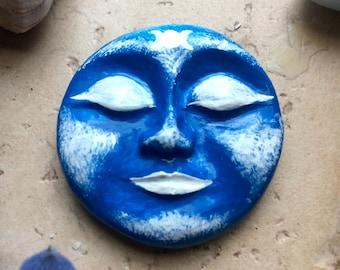 Lunar Full Moon Goddess Sculpture