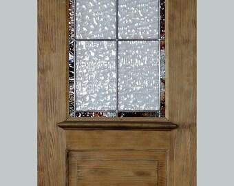 """Custom Antique Pantry Door, 90"""" x 24"""""""