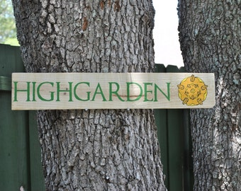 Game of Thrones Highgarden House Tyrell Outdoor Yard Sign