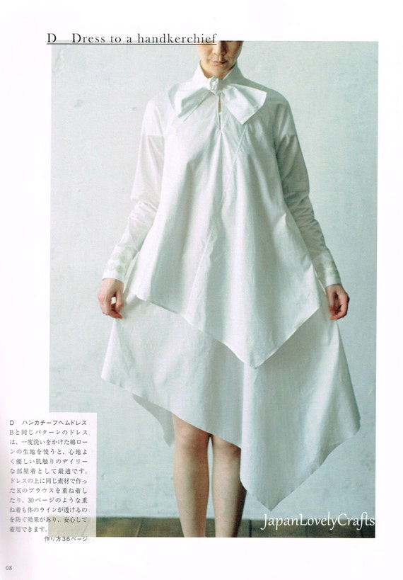 Simple & Elegant Garments, Japanese Sewing Pattern Book for Women ...