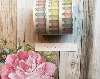 Washi Tape - Bunting, Washi, Washi Tape, Bunting, Decorative Tape, Planner Tape,