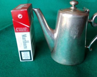 Antique individual Alpaca Coffee maker