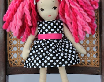Vintage Inspired Cloth Doll: Kira