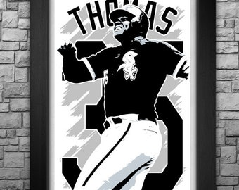 """FRANK THOMAS 11x17"""" art print"""