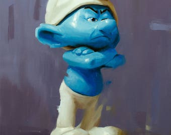 Gouchy Smurf - Print