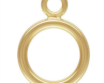 14k Gold Filled Toggle Ring 1.3x9.0mm GP (GP-4002031)