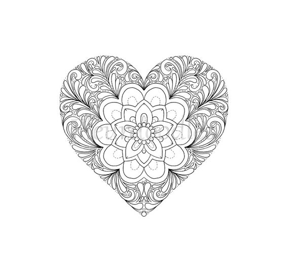 This is an image of Terrible Adult Coloring Pages Hearts
