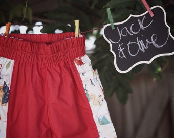 Treasure trousers handmade for fabulous fun