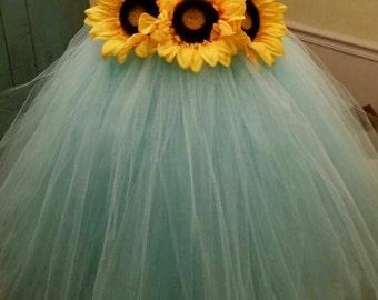 Yellow sunflower dress yellow dress lace dress tulle dress flower girl dress tulle flower girl dress sunflower dress tulle dress infanttoddler pageant dress princess dress flower dress mightylinksfo