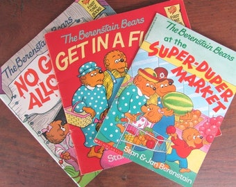 Berenstain Bears Book Collection Get In A Fight Super Duper Market No Girls Allowed