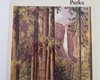 Western National Parks, David Muench, Michael Frome, Rand McNally, 1977, Vintage 1970s Western U.S. Travel Guide