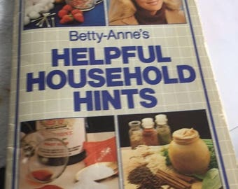 Betty-Anne's Helpful Household Hints 1983