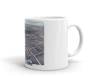 Coffee Mug - Princeton Illinois 1870