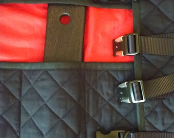 Red Roll Up Paddle Bag