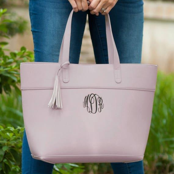 Aubrey Purse in Blush Pink