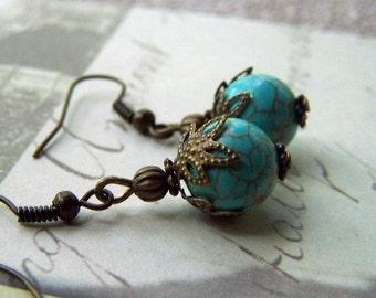 Turquoise Jewelry Turquoise Earrings
