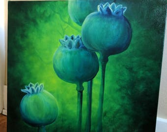 Poppies series#2 Original Oil Painting