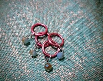 Iridescent Stitch Markers
