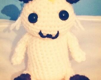 Meowth (Pokemon) Amigurumi/crochet. Meowth plush. Pokemon plushie. [MADE TO ORDER]