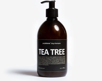 Tea Tree Dog / Puppy Shampoo by Purplebone | New