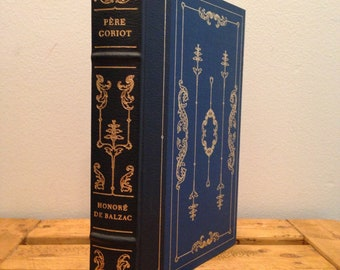 Pere Goriot by Honore de Balzac - The Franklin Library, Illustrated Vintage Hardcover Book