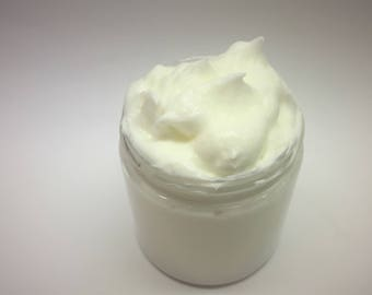 Bombshell Type Whipped Body Butter, Goat Milk, Shea and Cocoa Butter With Vitamin C, Handmade