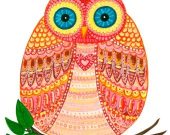 "OWL Print 10""X12"""