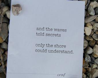 Waves Wall Art Print