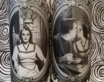 Munsters Candle Set (Lily, and Herman and Lily)