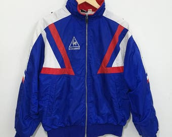 Vintage Le Coq Sportif Windbreaker Jacket Sportwear Sweater