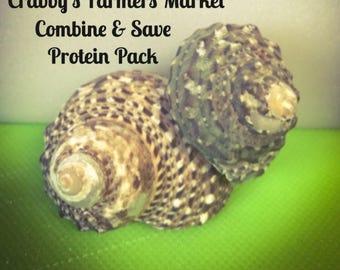 Combine & Save Protein Pack~ Hermit Crab Food