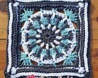 Sarah Circle in A Square Crochet Pattern