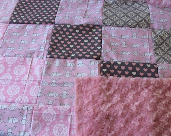 Easter Bunny Baby Quilt