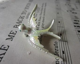 Vintage Dove Pin Brooch