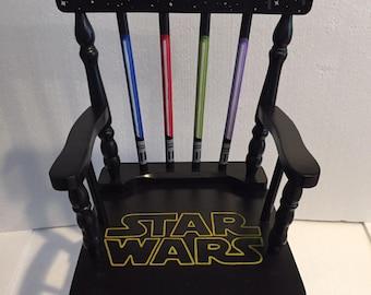 Star Wars Rocking Chair - Star Wars kids - Star Wars furniture - Star Wars decor - star wars nursery - star wars gift