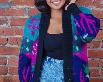 80s oversized sweater (OS)