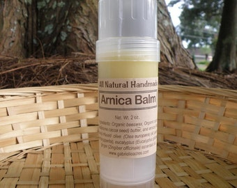 Arnica Balm, Arnica Infused, Unscented and Natural Twist-Up Stick-Two Ounce