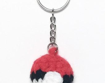 Pokeball Keychain | Pokemon Inspired Accessory
