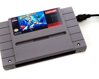 SNES Hard Drive - Mega Man X